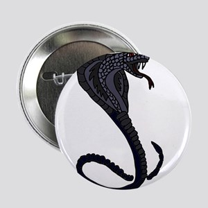 "King Cobra Snake 2.25"" Button"